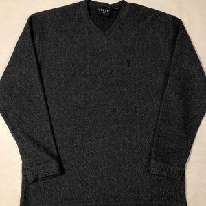 Guess Fleece Navy Sweater Size XL